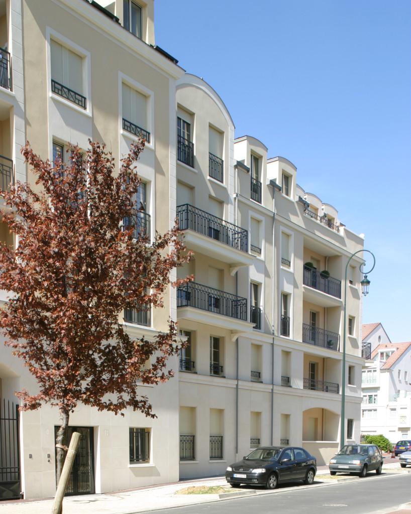 R f rence logements maisons laffitte 78 les all es du ch teau - Architecte maisons laffitte ...