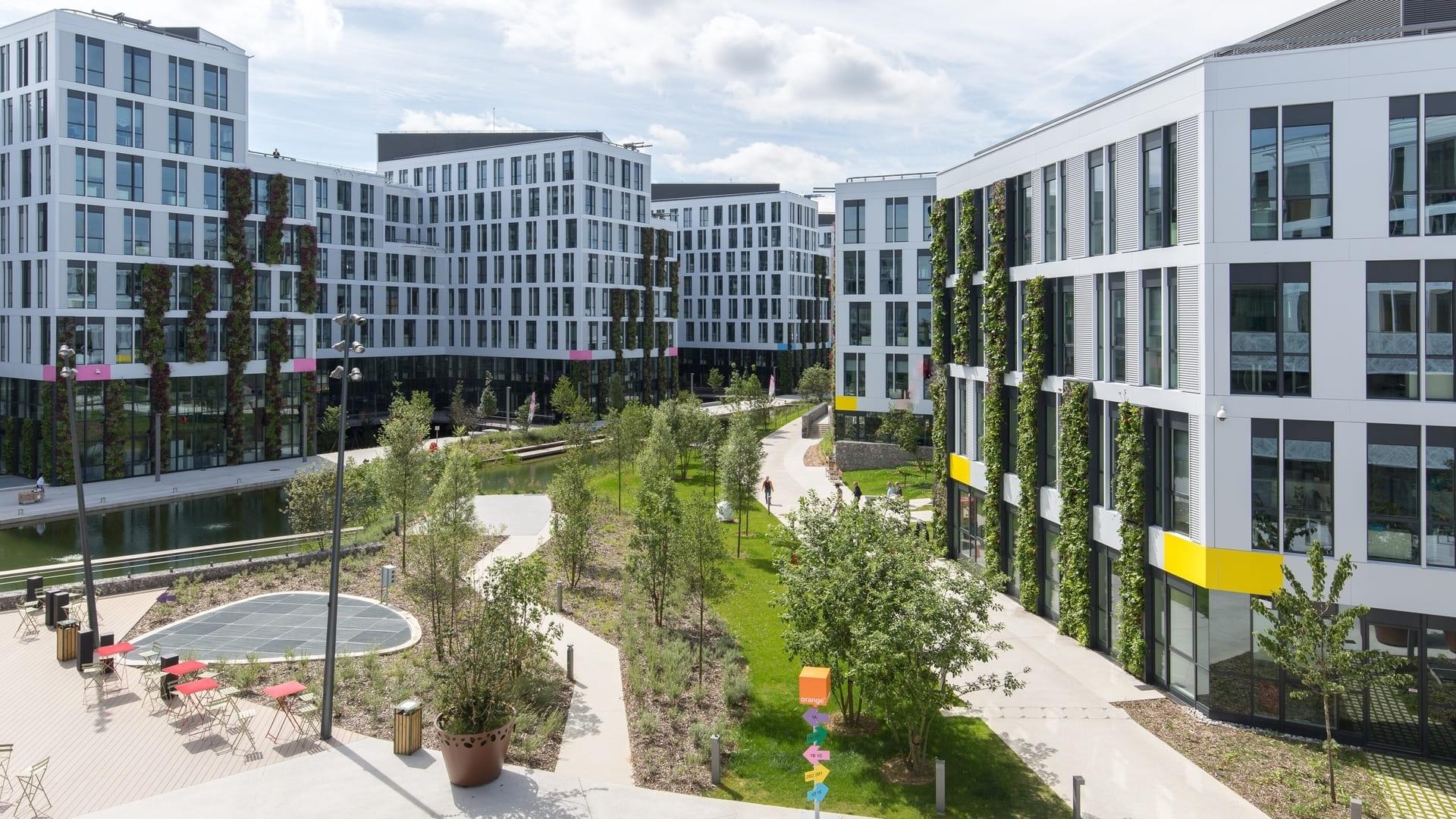 Eco campus orange gardens ch tillon 92 - Bureau de poste chatillon ...