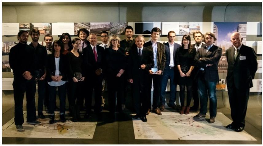 © Nicolas Grout, Fondation Palladio – Fondation de France / Remise des « Bourses Palladio 2015 » le 4 novembre 2015 lors de la Rentrée universitaire Palladio au Pavillon de l'Arsenal
