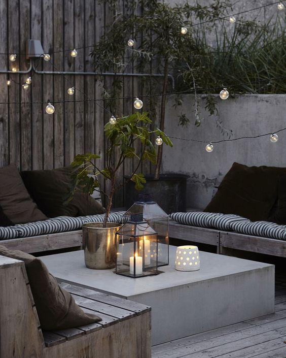 salon terrasse ou balcon
