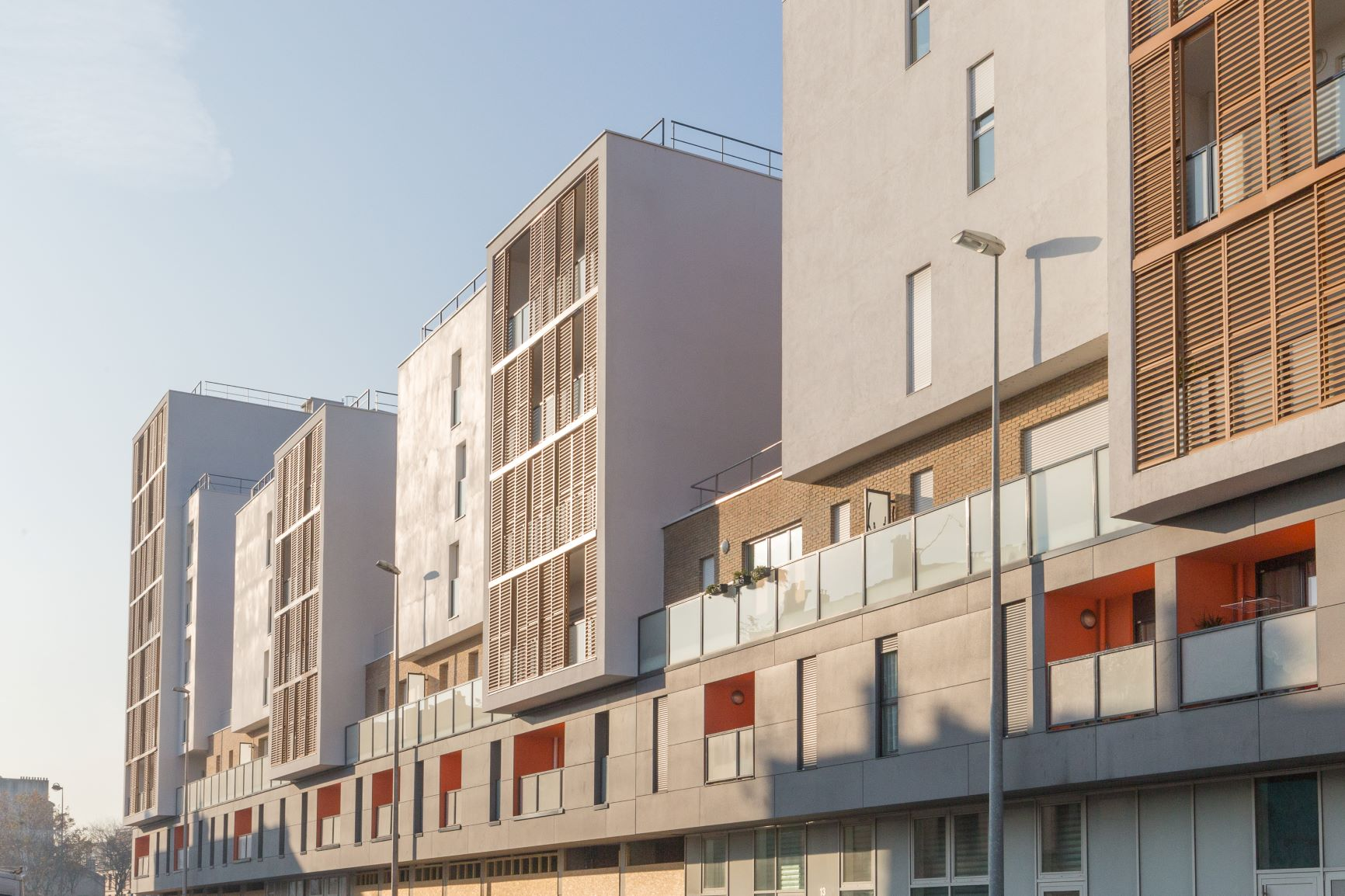 ASNIERES PERI logement interconstruction